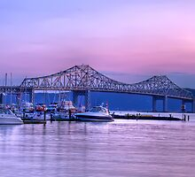 Tappan Zee At Dusk by JHRphotoART