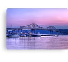 Tappan Zee At Dusk Canvas Print