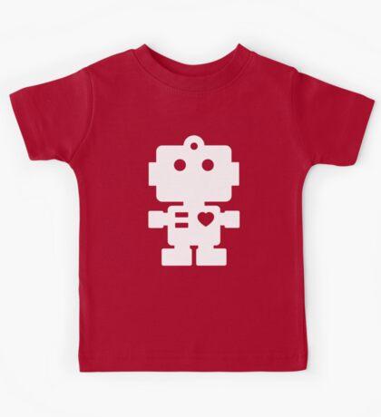 Robot - mageneta & white Kids Tee