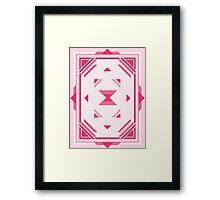 Pink Magic Crystal Framed Print