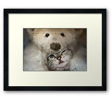Is this love Framed Print