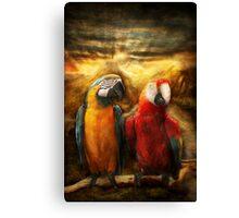 Animal - Parrot - Parrot-dise Canvas Print