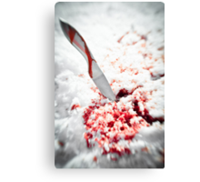 Whetted  Canvas Print