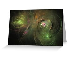 Peace in time Greeting Card