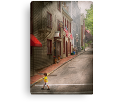City - Rhode Island - Newport - Journey  Canvas Print