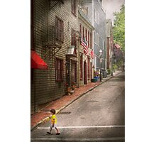 City - Rhode Island - Newport - Journey  Photographic Print