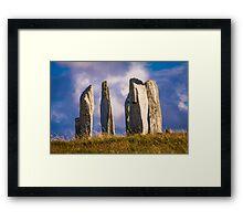Callanish - Guardian Circle Framed Print