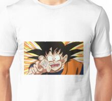 Goku, reaching for the last of the fairy bread Unisex T-Shirt