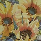 Sunflowers 1 by Anne Bonner