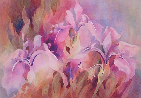 Irises by Anne Bonner