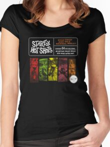 Stop, Drop And Do A Barrell Roll!!! Women's Fitted Scoop T-Shirt