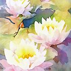 Waterlilies by Anne Bonner