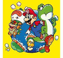 Super Mario World - Around the World Photographic Print