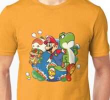 Super Mario World - Around the World Unisex T-Shirt