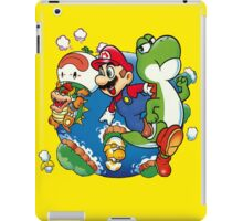 Super Mario World - Around the World iPad Case/Skin