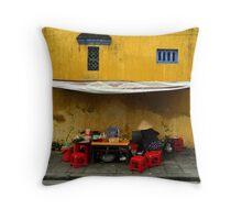 Street food - Vietnam Throw Pillow