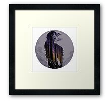 the mother earth Framed Print