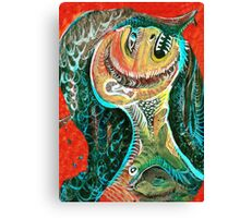 The Big Tooth Ache Canvas Print