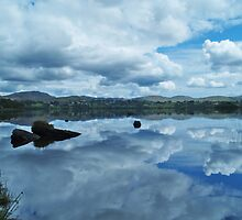 Lough Eske Reflection by WatscapePhoto