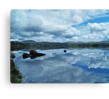 Lough Eske Reflection Canvas Print