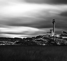 Cape Forchu Lighthouse by Keith Doucet