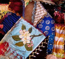 Sewing - Patchwork - Grandma's quilt  by Mike  Savad