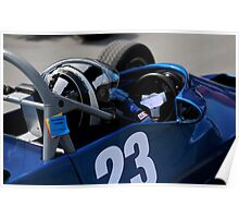 Racing Car Poster