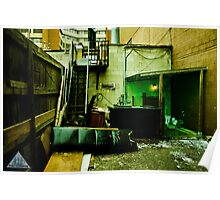 Green Garage Poster