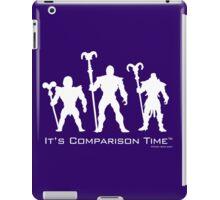 """It's Comparison Time"" - Skullface iPad Case/Skin"