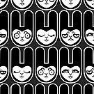 Load of Bunnies by blacklilypie
