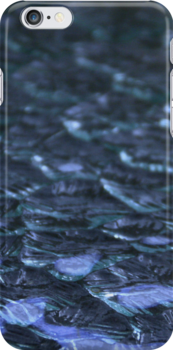Water or glass - iPhone case by Britta Döll