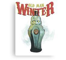 Old Man Winter Vigor Canvas Print