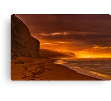 """Gibson's Golden Dawning"" Canvas Print"
