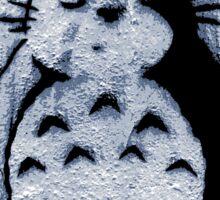 Street Art Stencil - Totoro Sticker
