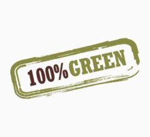 100% Green Kids Tee