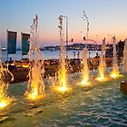 Mirage Hotel fountain. Cascais by terezadelpilar~ art & architecture