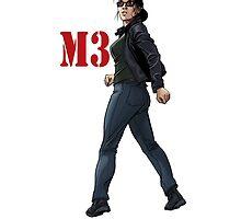 M3 Issue #2 Art by Machiavella3