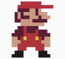 8-bit Mario by AccioKaity