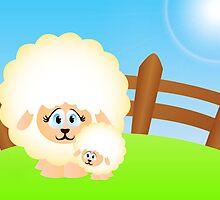 Sheep by Anvadi