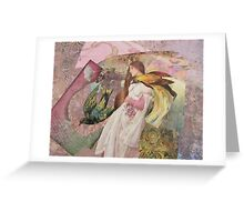 The Firebird's Pursuit Greeting Card