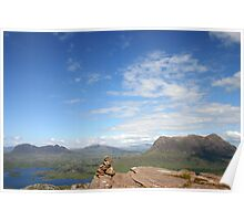 Suilven & Cul Mor, Assynt Poster