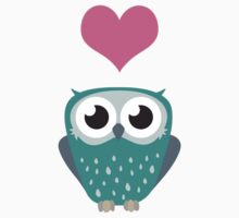 Owl Love You Forever (Boy) Kids Tee