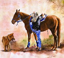 Saddle Up by Peter Williams