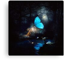 The Answer to Everything, The Hint of Truth.   Canvas Print