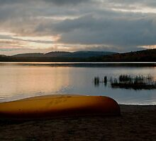 Sunrise at Lake of Two Rivers, Algonquin Park, ON by Gerda Grice