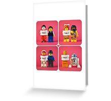 Lego Best Couple Award Greeting Card