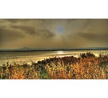 Salt Lake Sunset Photographic Print