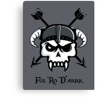 I Used to Be a Pirate... Canvas Print
