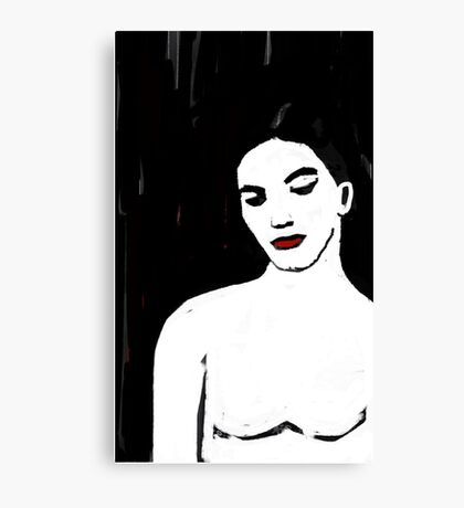 FAUX LINO Canvas Print
