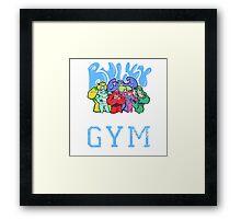 BULKY BEAR GYM Framed Print